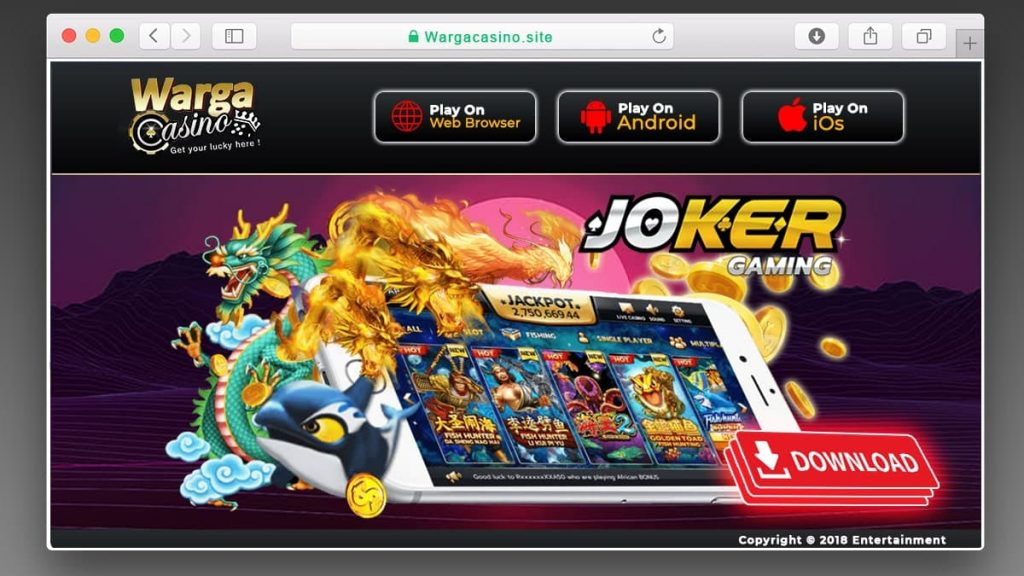 download apk joker123 android ios PC
